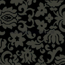 Ornament black plakfolie Gekkofix motieven