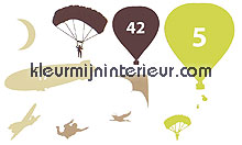 Montgolfiere stickers mureaux Caselio Voitures Transport