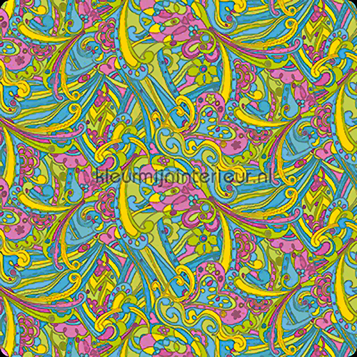 hippy chic self adhesive foil pattern