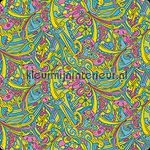 Hippy chic self adhesive foil wood
