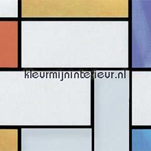 Mondriaan lámina adhesiva Gekkofix para ventanas estático