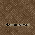 Traanplaat metallic bruin DC-fix collectie dc fix