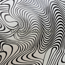 Spiral zwart op wit selvklaebende plast DC-Fix træ