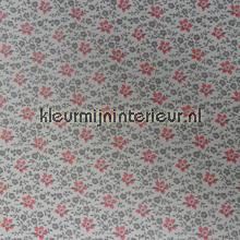 Grijs roze bloemetjes plakfolie DC-Fix behang