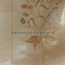 Tegel met bloemmotief plakfolie DC-Fix DC-fix collectie