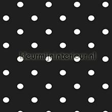 Dots Black selvklaebende plast Gekkofix Gekkofix collectie 12598