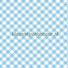 Diagonal Blue selvklaebende plast Gekkofix træ