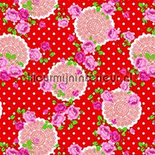 Dots and Flowers Red plakfolie Gekkofix 12604