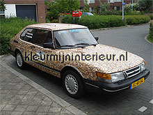 Brandhout plakfolie feuille autocollante DC-Fix Room set photo's