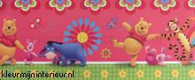 Pooh beer rand decofun interieurstickers Decofun Baby Peuter