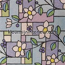 Zeer stevige kwaliteit bloem plakfolie Lineafix statische raamfolie