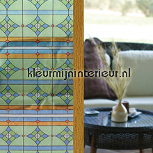 Zeer stevige kwaliteit Glas in lood raam self adhesive foil Lineafix Room set photo's