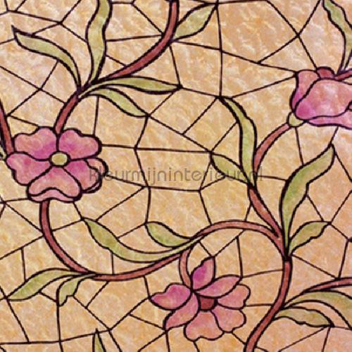Tiffaans glas lámina adhesiva 91-2240 colored designs Patifix