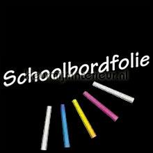 Schoolbordfolie 45 x 200 cm met krijtjes plakfolie Kleurmijninterieur Schoolbord folie