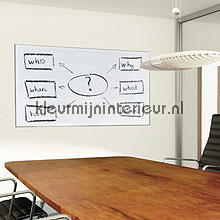 Whiteboard folie feuille autocollante Gekkofix Room set photo's