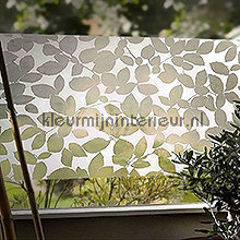Leaf feuille autocollante Gekkofix Room set photo's