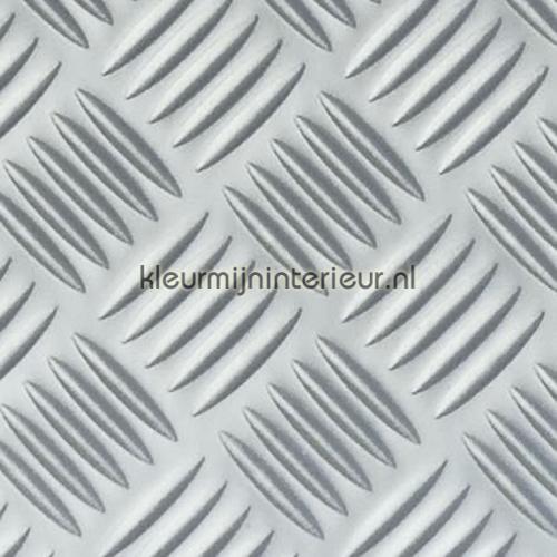 Traanplaat relief glans pellicole autoadesive 18-7800 Argento - Metallico Patifix