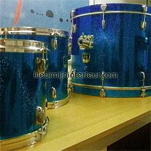 Metallic blauw plakfolie DC-Fix Zilver Goud Metallic