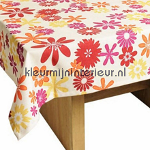 table covering flowers
