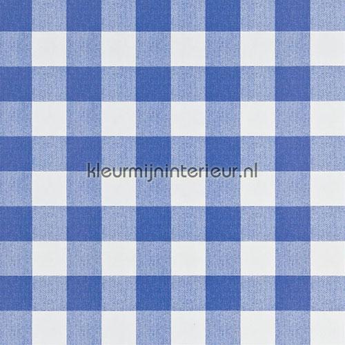 Party tafelkleed boerenruit blauw oilcloth 20018 caro blauw firkant Kleurmijninterieur
