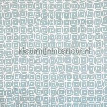 Modern motief licht turquoise table covering Kleurmijninterieur all images