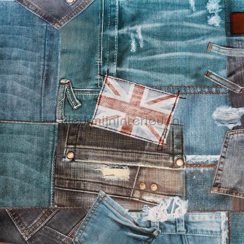 Jeans copritavolo decori Kleurmijninterieur