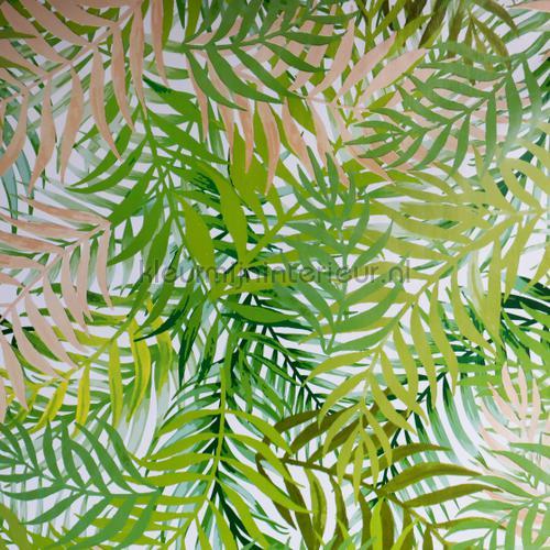 Botanisch groen nappes Jungle groen décors Kleurmijninterieur