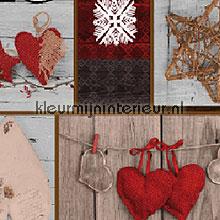 kerst collage tafelzeil Kant - Kerst Kleurmijninterieur