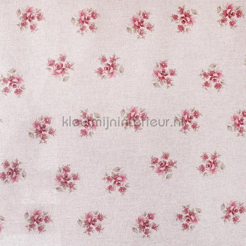 Boeketjes nappes Roze bloem fleurs Kleurmijninterieur