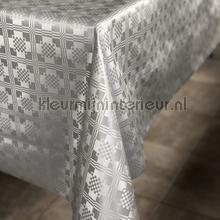 Zillveren damast tafelzeil 12-2-286 klassiek Kleurmijninterieur