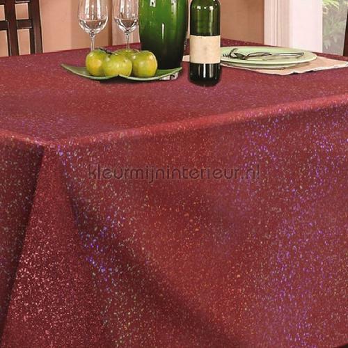 Glittera dieprood tafelzeil 12-gr klassiek Kleurmijninterieur