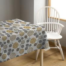 Malja oker table covering Kleurmijninterieur wood