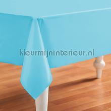 Lichtblauwe uni nappes Kleurmijninterieur couleurs unies