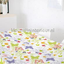 Groene vlinders tafelzeil Kleurmijninterieur modern