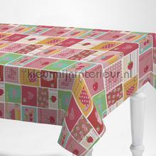 Rose tegels nappes Kleurmijninterieur patchwork