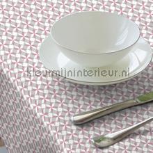 Sterren rose tafelzeil Kleurmijninterieur modern
