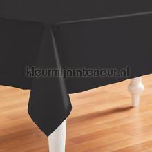 Uni zwart nappes Kleurmijninterieur couleurs unies