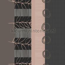 Abstracte stroken nappes Kleurmijninterieur transparent