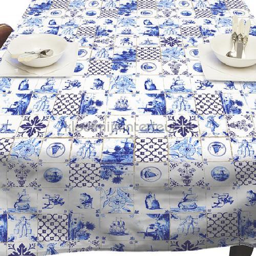 delfts blauwe tegels oilcloth 11-W030 moderne Kleurmijninterieur