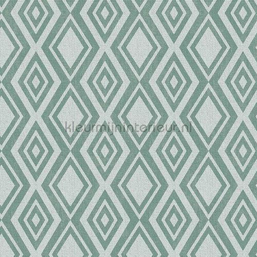 groene ruiten tafelzeil 11-BJ31 klassiek Kleurmijninterieur