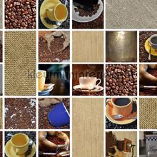 Koffie nappes Kleurmijninterieur transparent