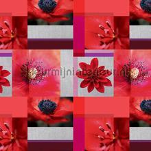 Rose bloemen table covering Kleurmijninterieur wood