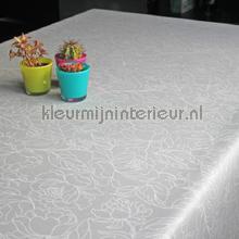 Grote bloemen table covering Kleurmijninterieur wood