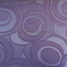 Paarse kringen tafelzeil Kleurmijninterieur modern