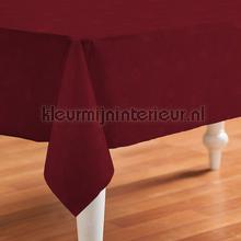 Bordeaux rood met kleine ruitjes oilcloth Kleurmijninterieur firkant