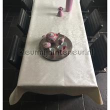 Damast barok tafelzeil 13-plev58-wh klassiek Kleurmijninterieur