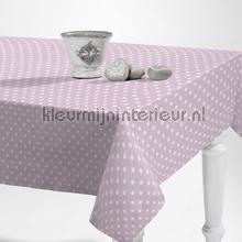 Stippen purper roze tafelzeil Kleurmijninterieur modern
