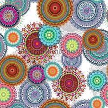 Spirographics tafelzeil Kleurmijninterieur Prestigious Textiles