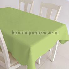 Groene uni nappes Kleurmijninterieur couleurs unies