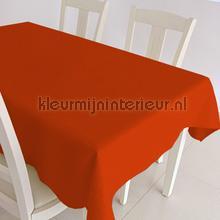 Rode uni nappes Kleurmijninterieur couleurs unies